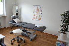 Behandlungsraum von Ganzheitlichen Therapie Schwabing Muenchen